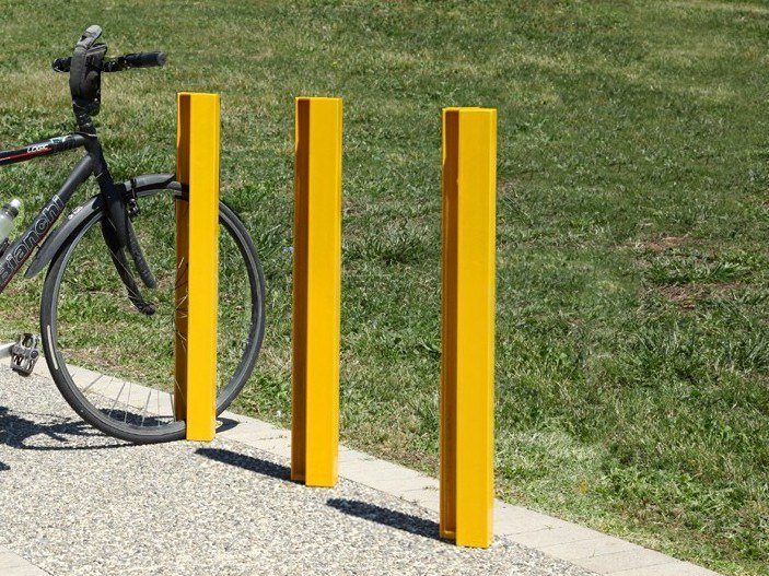 Steel Bicycle rack / bollard INFINITY - CITYSì