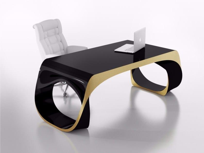 Rectangular Adamantx® executive desk INFINITY DESK - ZAD ITALY
