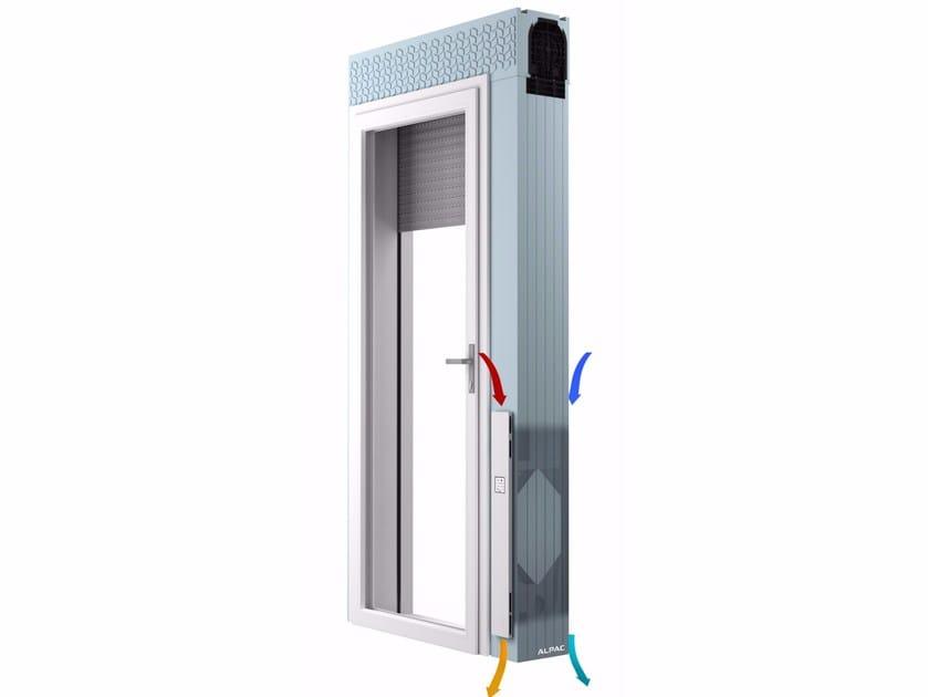 Monoblock window INGENIUS VMC - ALPAC S.r.l. Unipersonale