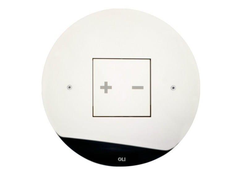 Glossy steel flush plate INO-X 05 | Glossy steel flush plate - OLI