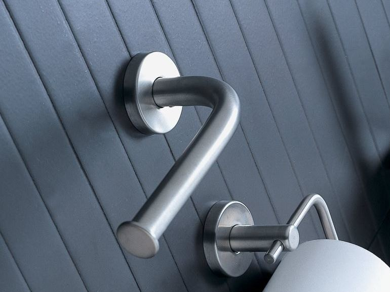 Stainless steel toilet roll holder INOX | Toilet roll holder - INDA®