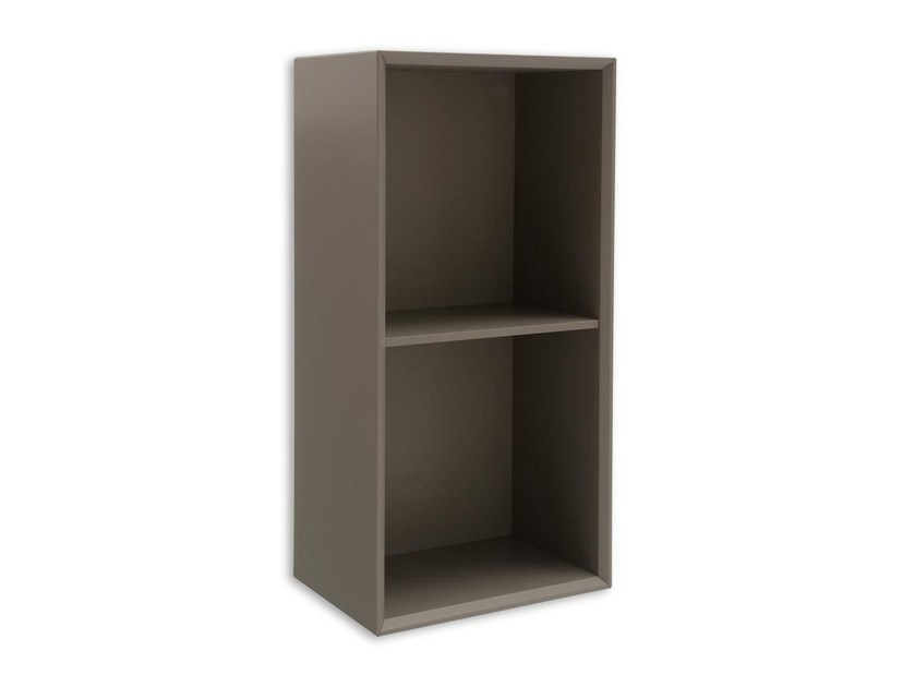 Open wooden wall cabinet INSIDE | Wooden wall cabinet - Calligaris