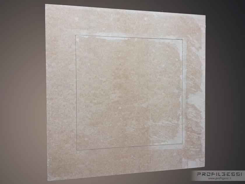 Gypsum fiber inspection chamber INSPECTION FLAT - Profilgessi