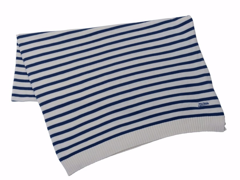Striped Modal® lap robe INTEMPOREL by LELIEVRE