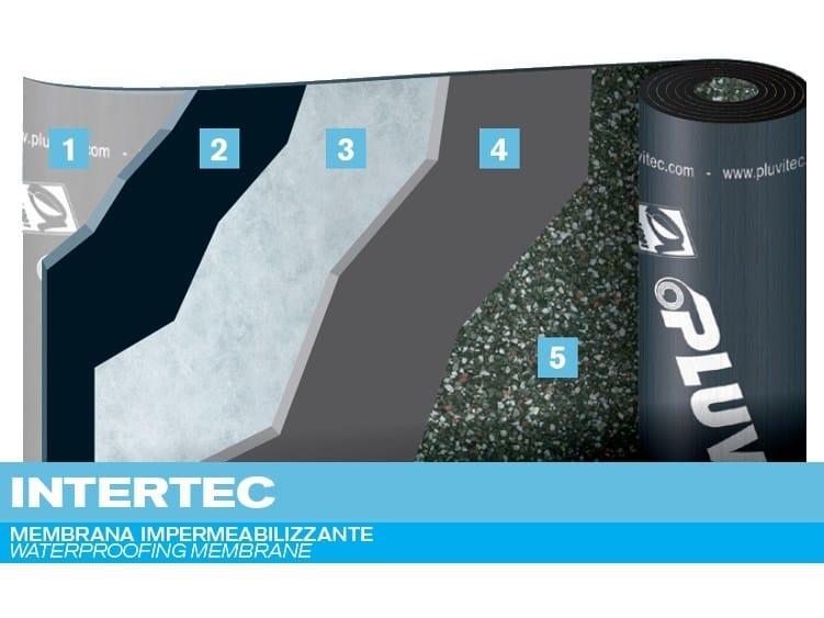 Prefabricated bituminous membrane INTERTEC - PLUVITEC