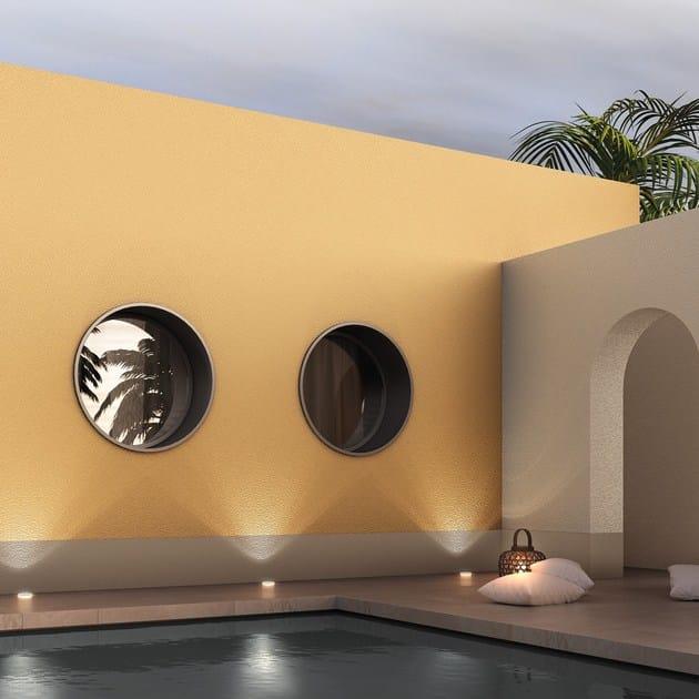 Water-based breathable decorative painting finish with antique faux finish INTONACHINO MINERALE GRANA MEDIA - Colorificio San Marco
