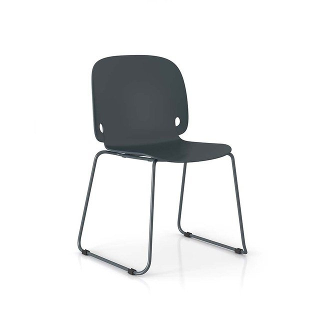 Sled base polyamide chair INTRO by PIANCA