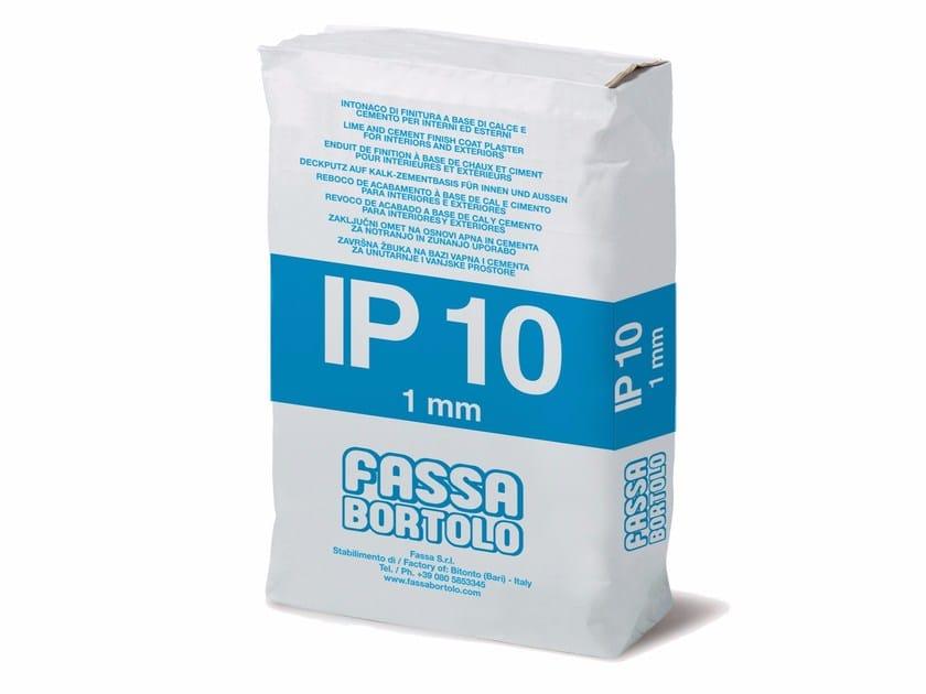 Cement plaster IP 10 by FASSA