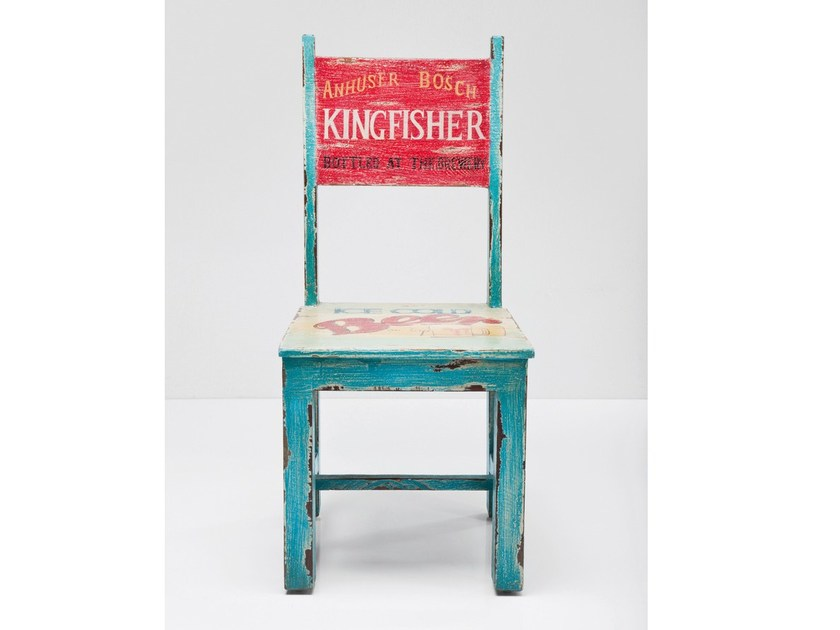 Open back wooden chair IPANEMA - KARE-DESIGN