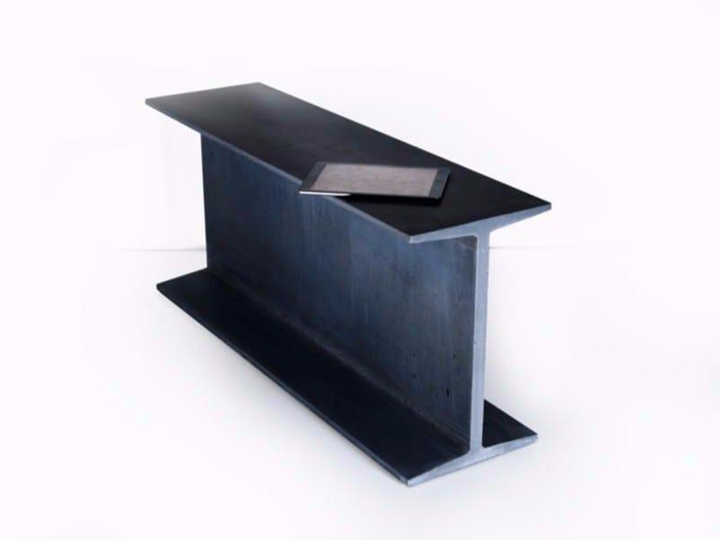 Rectangular fiber cement console table IPN - MALHERBE EDITION