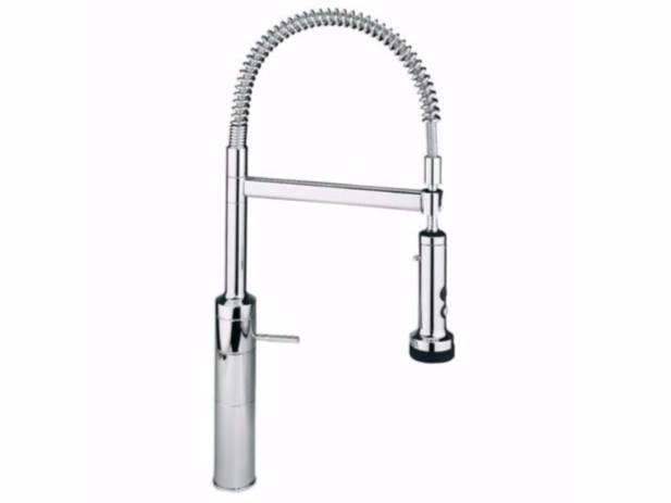 Countertop kitchen mixer tap with pull out spray IQ - A4369 - Ideal Standard Italia