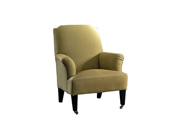 Upholstered fabric armchair IRIDE - SOFTHOUSE