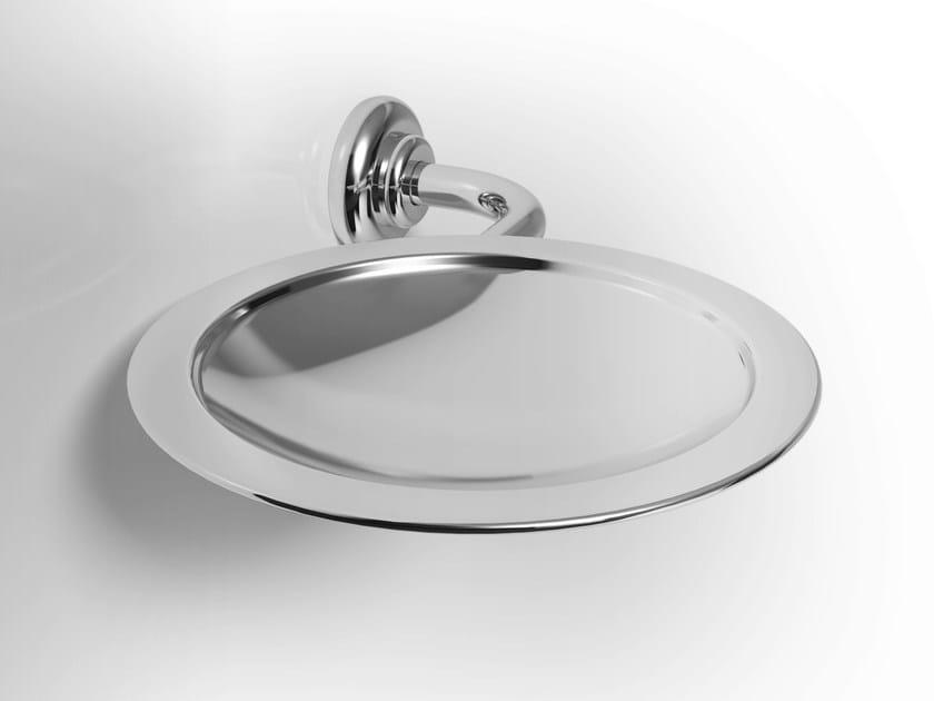 Wall-mounted metal soap dish IRIS   Metal soap dish - Alna