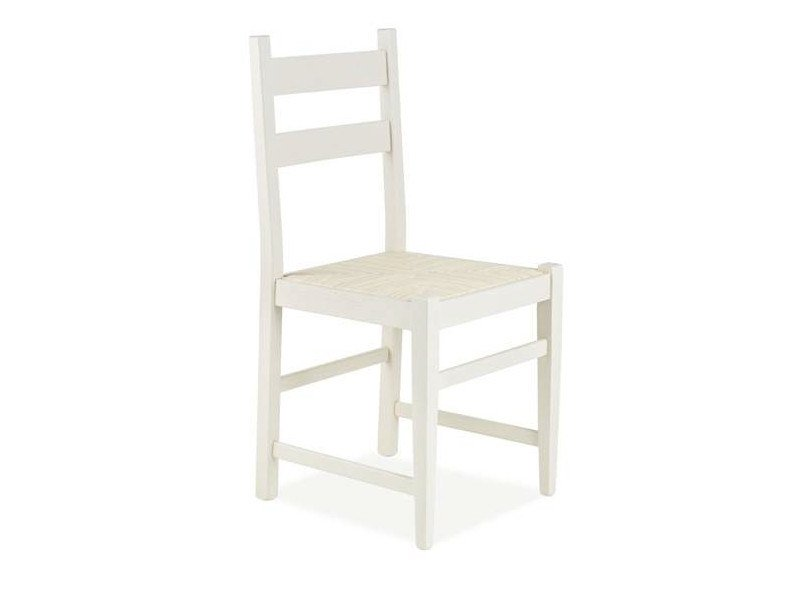 Lacquered wooden chair IRIS | Chair - CREO Kitchens by Lube