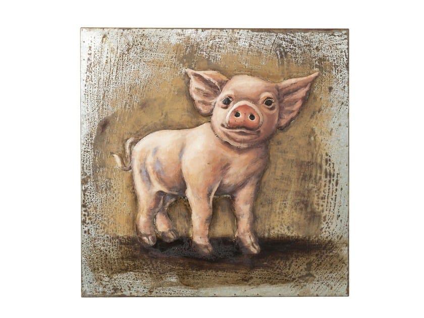 Steel decorative painting IRON PIGGY - KARE-DESIGN