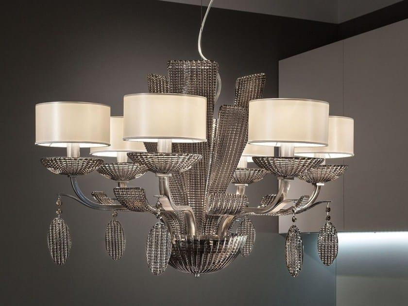 Lampada a sospensione a luce diretta in metallo ISBEL | Lampada a sospensione - Masiero