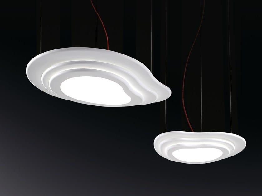 LED methacrylate pendant lamp ISLAS | Pendant lamp by NOIDESIGN