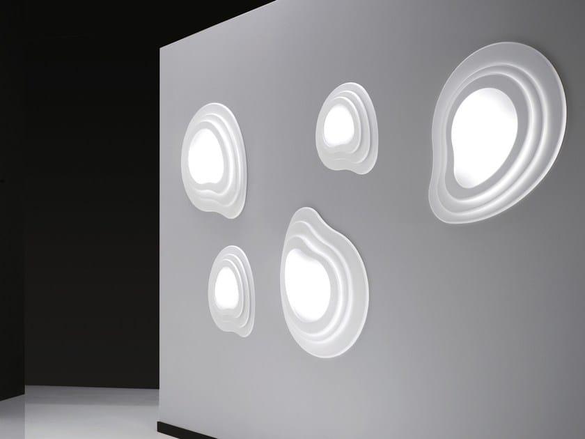 LED methacrylate wall light ISLAS | Wall light by NOIDESIGN