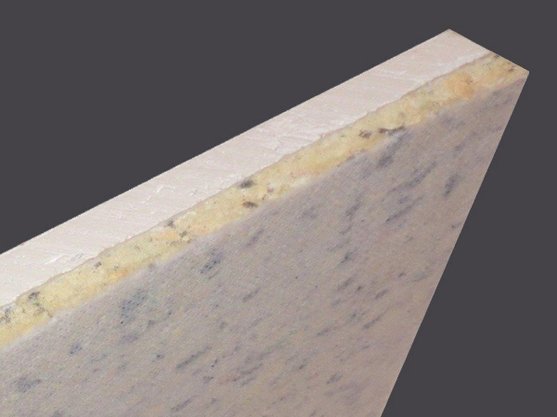 Combined sheet for wall sound-proofing ISOLAST® 120 STD - Gyps