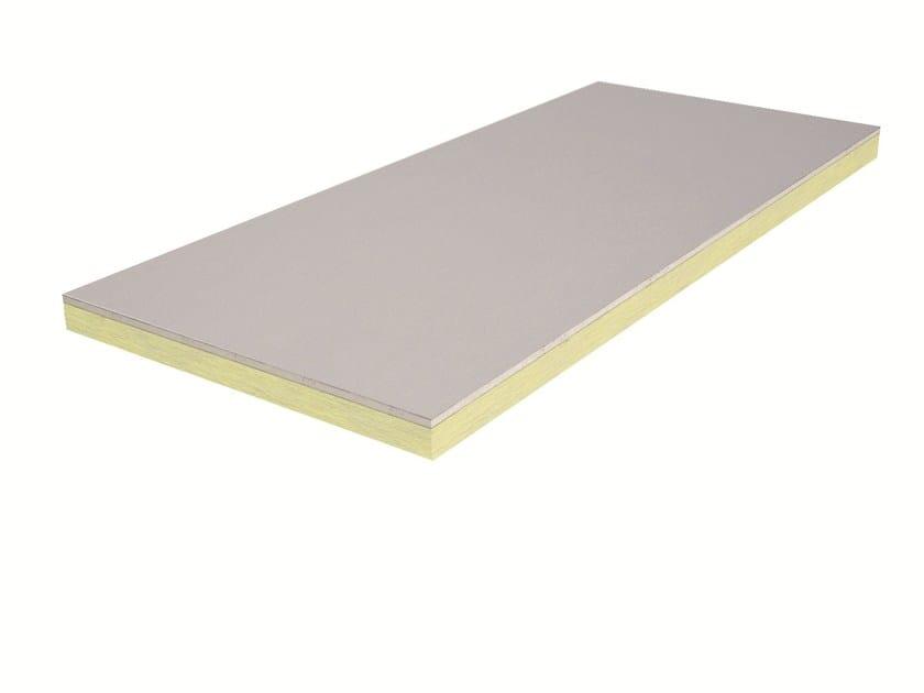 Polyurethane thermal insulation panel ISOLASTRE® PU by Knauf Italia
