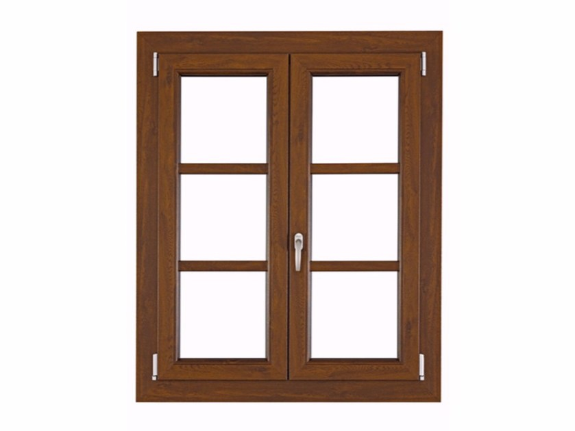 PVC top-hung window ISOLTEK - FOSSATI PVC