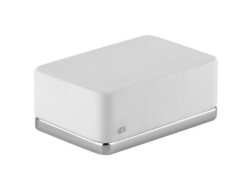 Countertop soap dish ISPA ACCESSORIES 41625 - Gessi