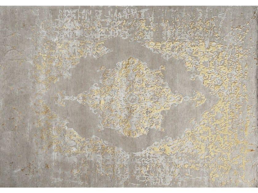Handmade rug ISPAHAN PAGLIA - EDITION BOUGAINVILLE