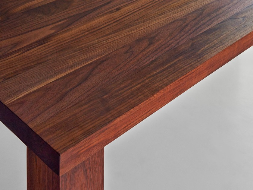 Rechteckiger Tisch aus massivem Holz IUSTUS by vitamin design ...