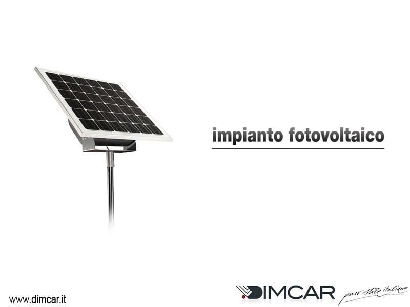 Porch with PV panels Impianto fotovoltaico per pensiline - DIMCAR