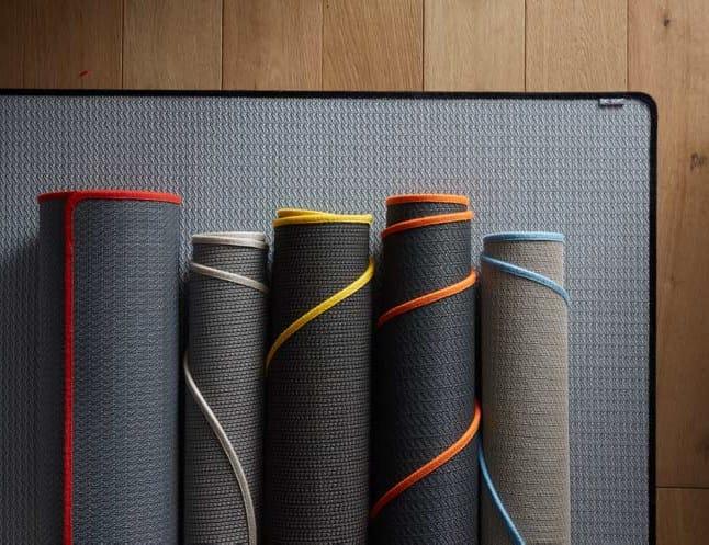 Custom vinyl fabric rug IN & OUT | Rug - Dickson