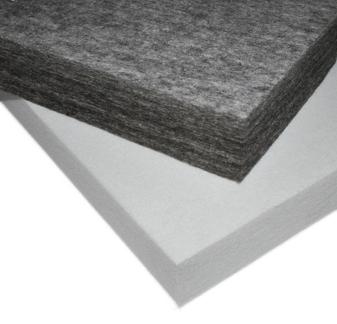 Polyester fibre sound insulation panel ISOLSPACE INDUSTRY - Isolmant - TECNASFALTI