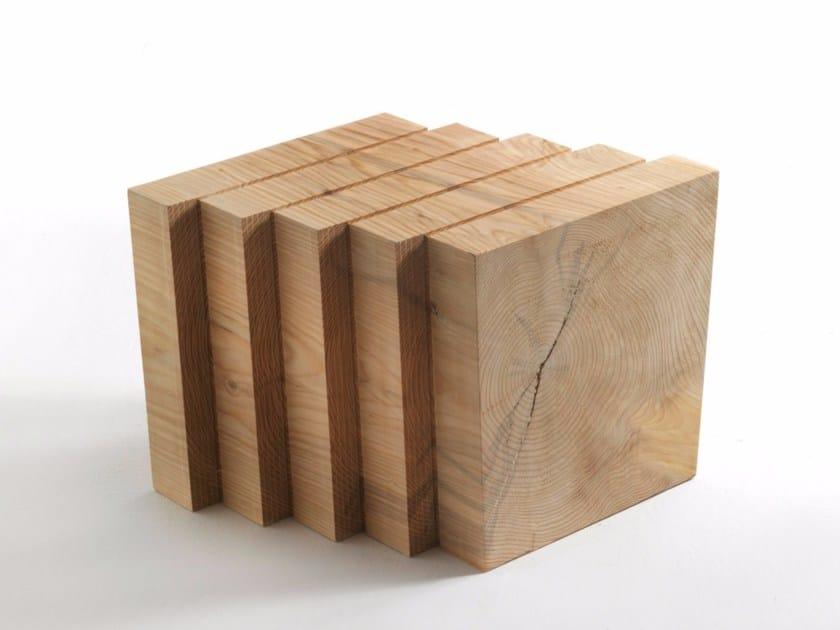 Cedarwood stool J+I SHIFT - Riva 1920