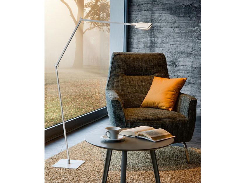 LED adjustable floor lamp JACKIE | Floor lamp by PANZERI