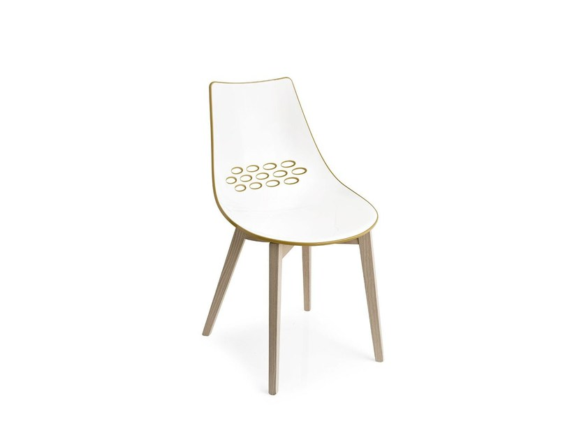 Technopolymer chair JAM W   Chair - Calligaris