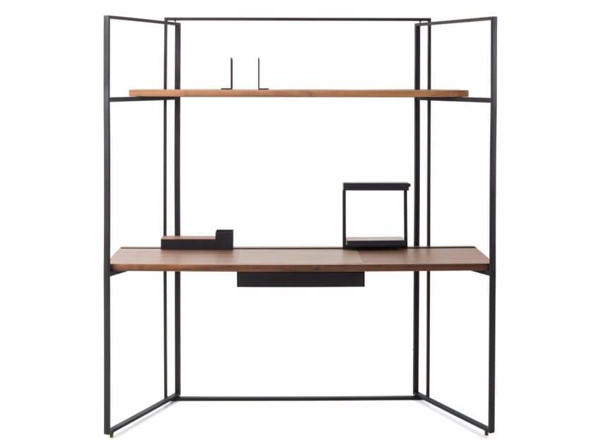 Wooden secretary desk DESK - STELLAR WORKS