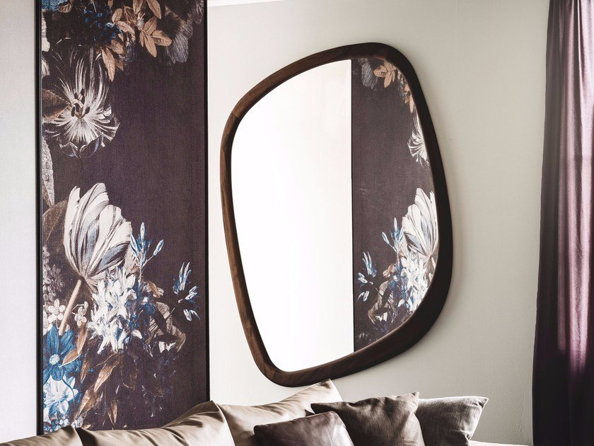 Wall-mounted framed mirror JANEIRO by Cattelan Italia