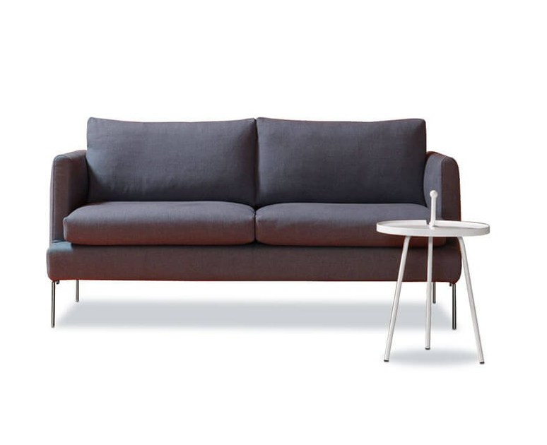 Fabric sofa with removable cover JASMINE by ESTEL GROUP