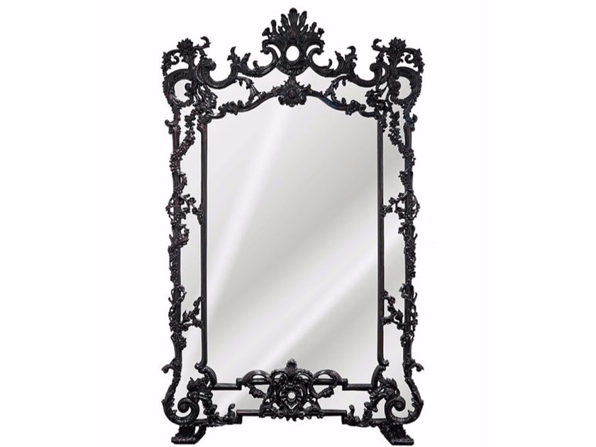 Wall-mounted framed mirror JASON - Gianfranco Ferré Home