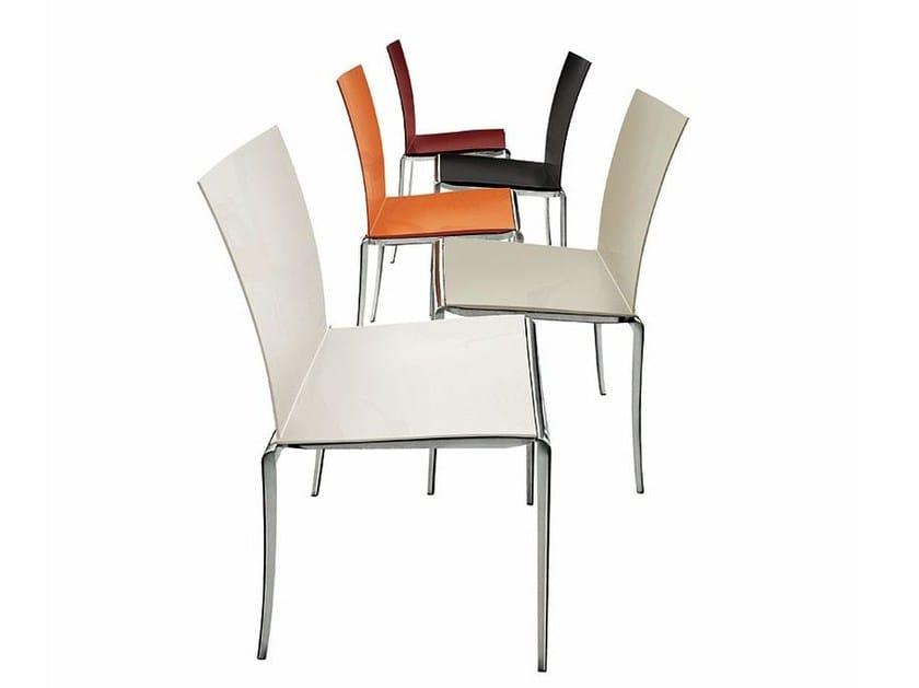 Stackable aluminium chair JAZZ - ALIVAR