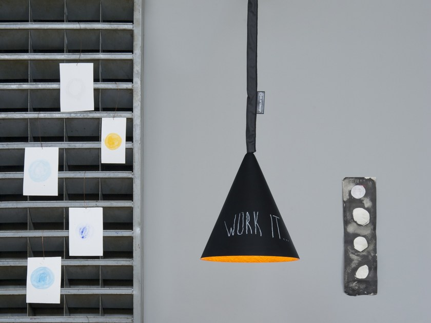 Contemporary style pendant lamp JAZZ LAVAGNA | Pendant lamp by In-es.artdesign