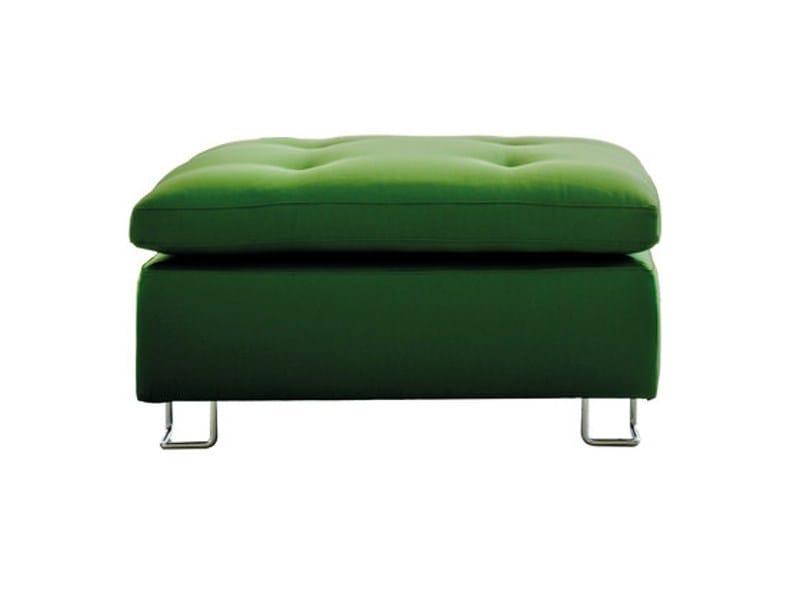 Upholstered fabric pouf JAZZ | Pouf - SANCAL