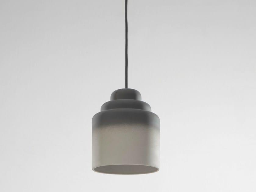 Porcelain pendant lamp JEDEE by Specimen Editions