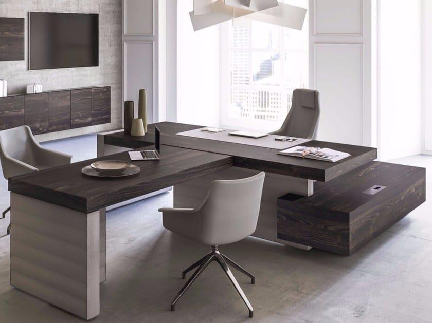 Jera escritorio de oficina modular by las mobili for Lista de muebles de oficina