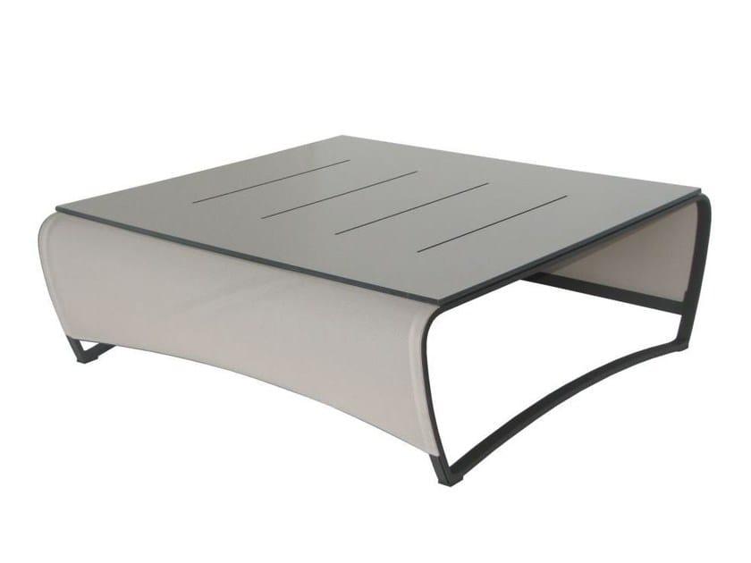 Aluminium garden side table JETSTREAM | Coffee table by Les jardins