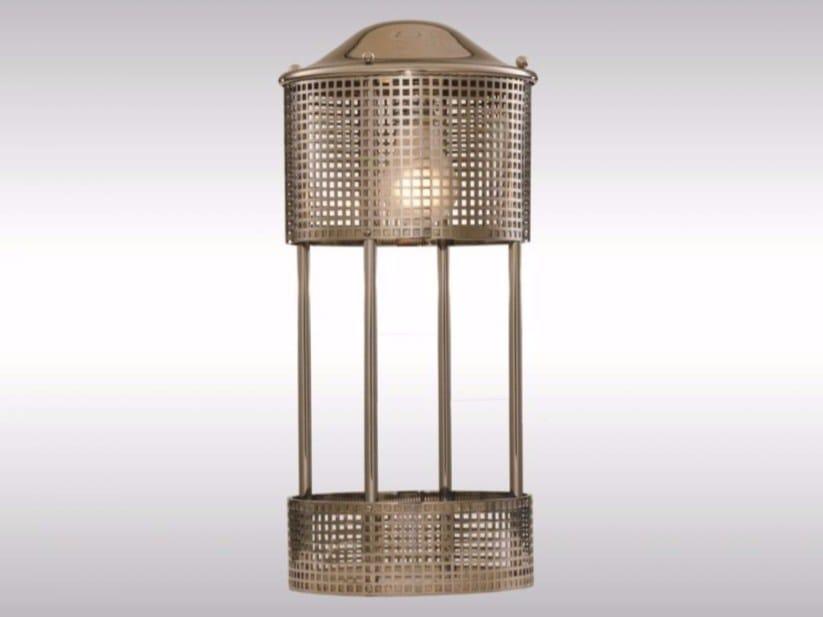 Indirect light brass table lamp JH8 | Table lamp - Woka Lamps Vienna