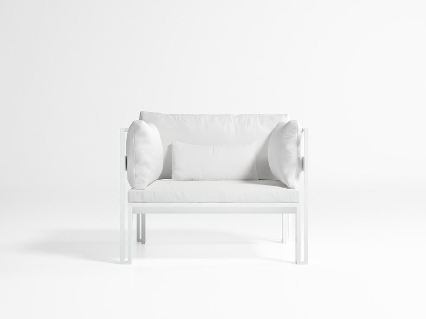 Garden armchair with armrests JIAN | Garden armchair - GANDIA BLASCO
