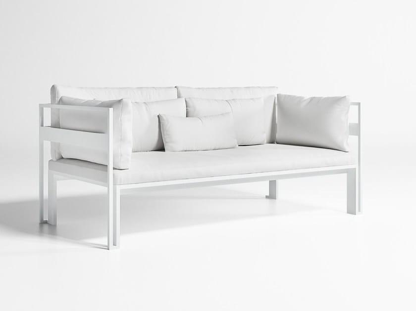 2 seater aluminium garden sofa JIAN | Sofa - GANDIA BLASCO