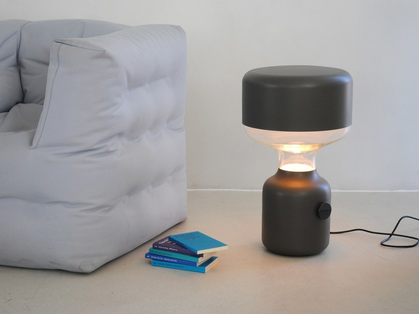 Indirect light halogen floor lamp JINN LARGE by Vertigo Bird