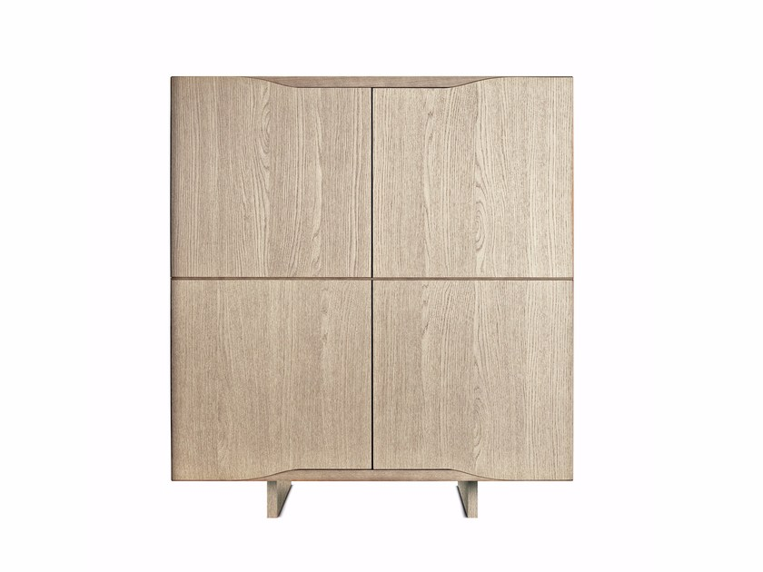 Multi-layer wood highboard JODAN | Highboard by Varaschin