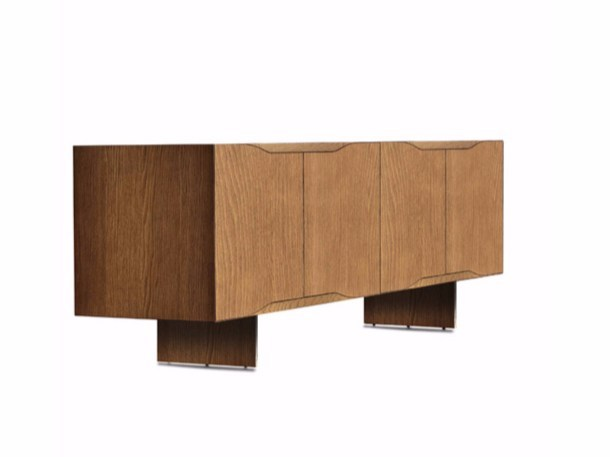 Multi-layer wood sideboard JODAN | Sideboard - Varaschin